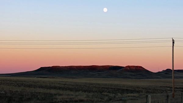 November 20:  North Platte, NE to Gillette, WY .  .  .