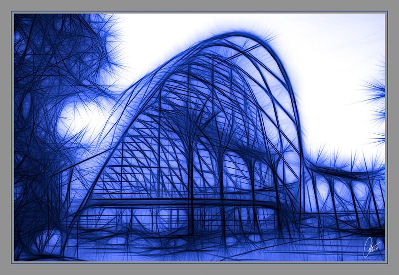 Fractal ARTIC in Blue