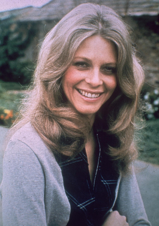 . April 1980:  American actress Lindsay Wagner.  (Photo by Hulton Archive/Getty Images)