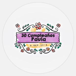 30 Cumpleaños Paula
