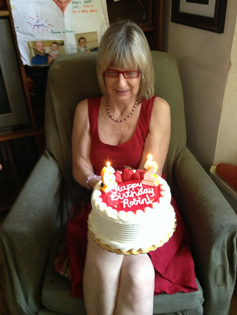 Robin's 62nd Birthday, July 2014