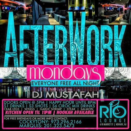 Rio Lounge Mondays