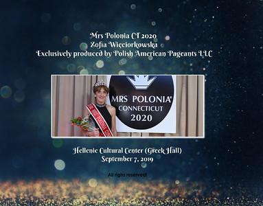 2019 Miss Polonia CT 2020 -  Zofia W