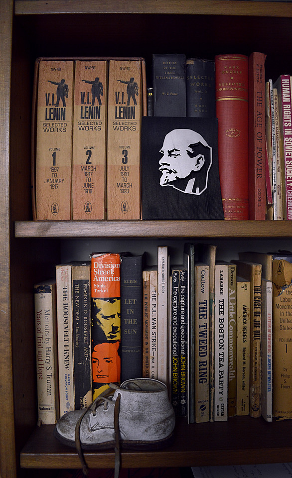 Lenin, Books, and Baby Shoe
