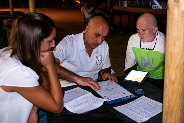 Follonica, 4 September 2020: lesson for goalkeepers coaches
