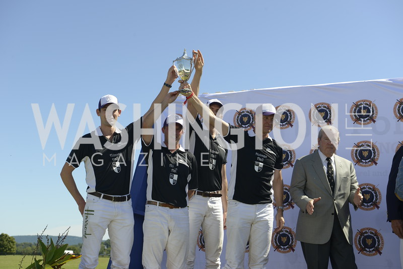 Holman Hall winners of Founders Cup Trophy,  NSLM 2019 Polo Classic Great Meadow Sep 15 2019 Photo by Nancy Milburn Kleck
