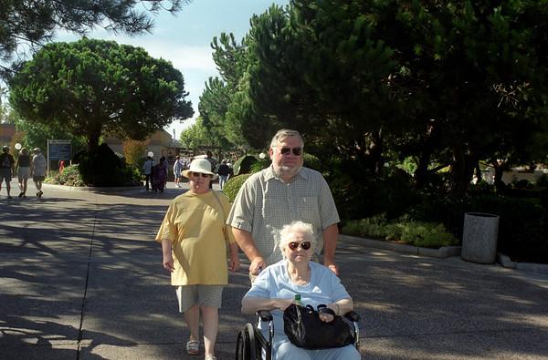 Mom Dad & Grandma Visit SoCal
