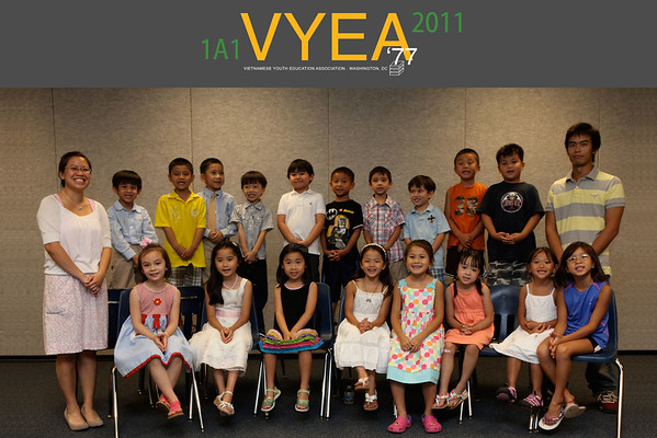 VYEA 2011 Class Pictures
