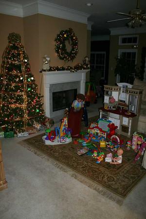 Santa brings some toys