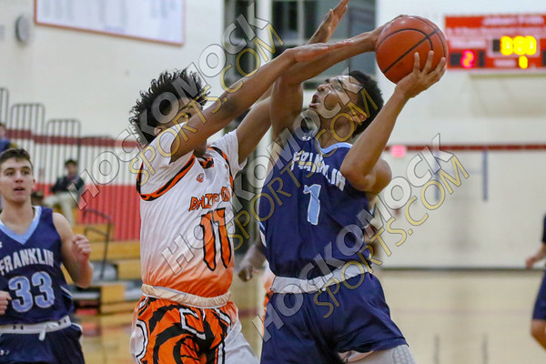 Franklin-Brighton Boys Basketball - 12-27-18
