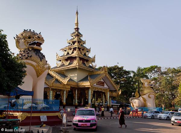 Kaba Aye Pagoda, Yangon 2014