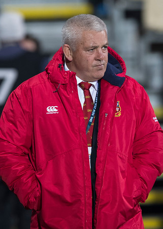 Warren Gatland pensive before game during game 3 of the British and Irish Lions 2017 Tour of New Zealand,The match between  Crusaders and British and Irish Lions, AMI Stadium, Christchurch, Saturday 10th June 2017 (Photo by Kevin Booth Steve Haag Sports)  Images for social media must have consent from Steve Haag