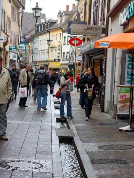 A street in Freiburg