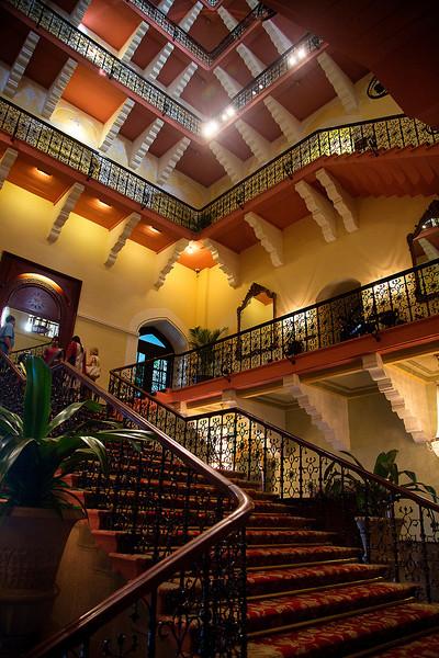 Inside the Taj Hotel