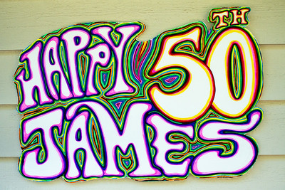 James is 50!