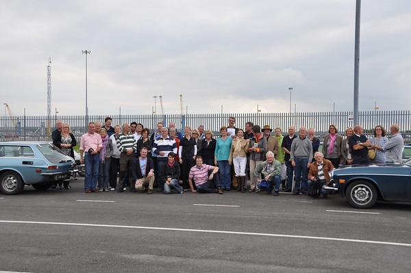 2011-09-04 zondag: van Drymen naar Newcastle