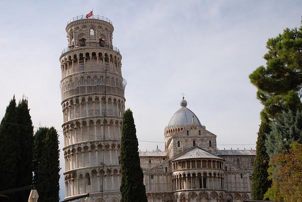 Pisa & Piazzale Michaelangelo with Mamma