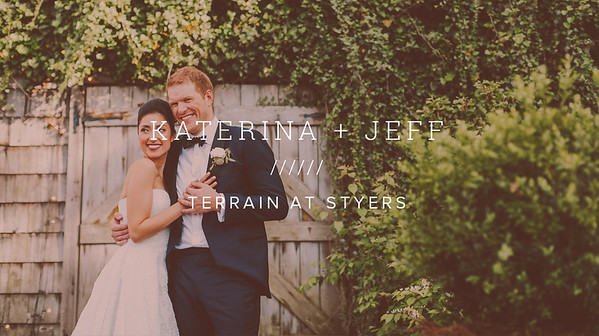 KATERINA + JEFF ////// TERRAIN AT STYERS