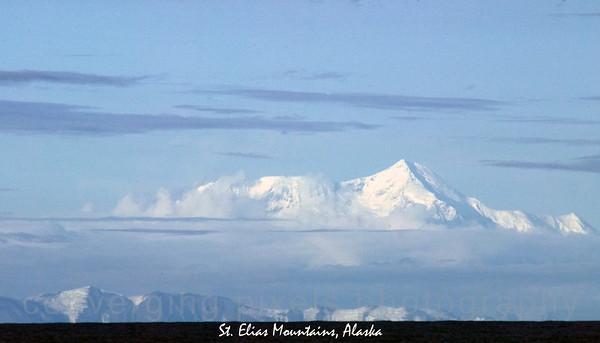 """""""St. Elias Mountains"""", Alaska.  2546"""