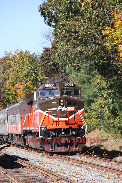 "Providence & Worcester Railroad MBRE ""Willimantic Special"" 10-13-12"