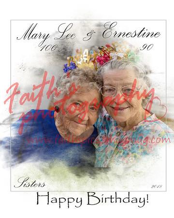 Ernestine & Mary Lee's Birthday Celebration 081818