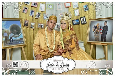 Lela dan Diky Wedding Photobooth Gallery