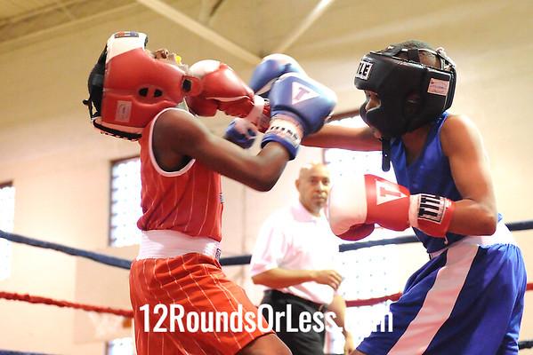 Bout #1 Tyshawn Humphrey vs Tyler Duncan, BSBA 75 lbs