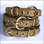 Gold & Silver Dog Collars