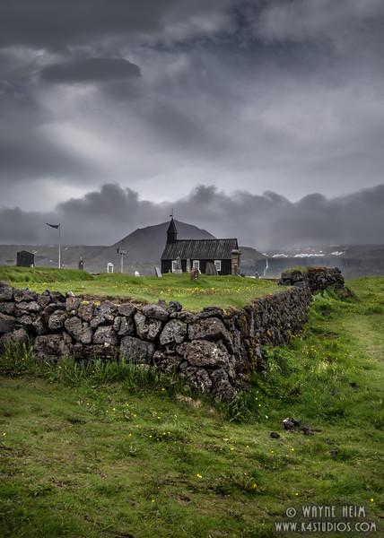 Cemetery Wall  Photography by Wayne Heim