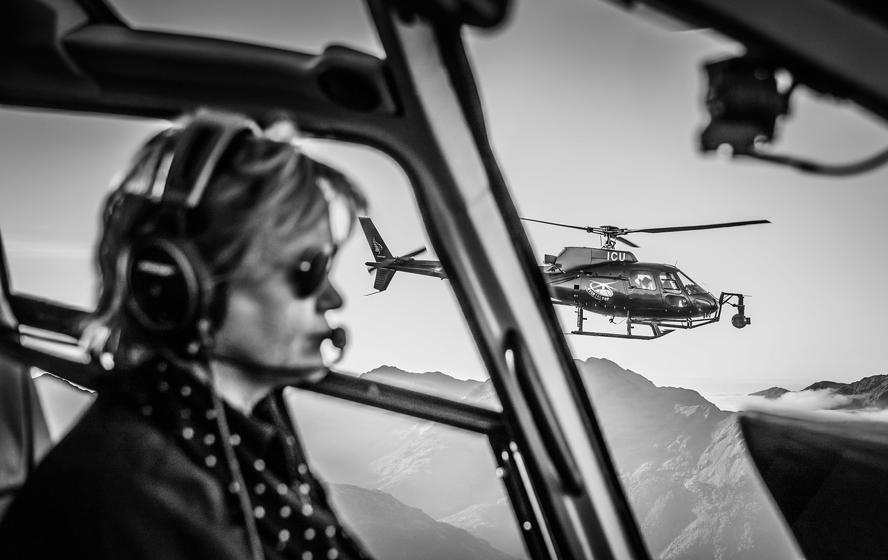 Helicopter Portrait