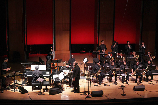 20131115 Terence Blanchard with UH Jazz