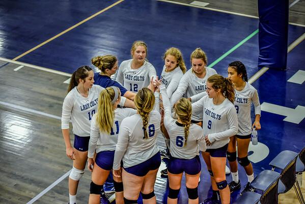 Creek Varsity vs Ringgold (Volley @ Creek) 9-10-16
