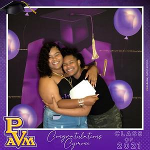 May 16, 2021 - Cymone's Graduation Celebration