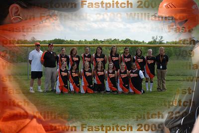 Williamstown HS Softball 2008-09