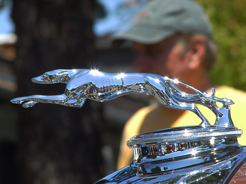 Lincoln hood ornament
