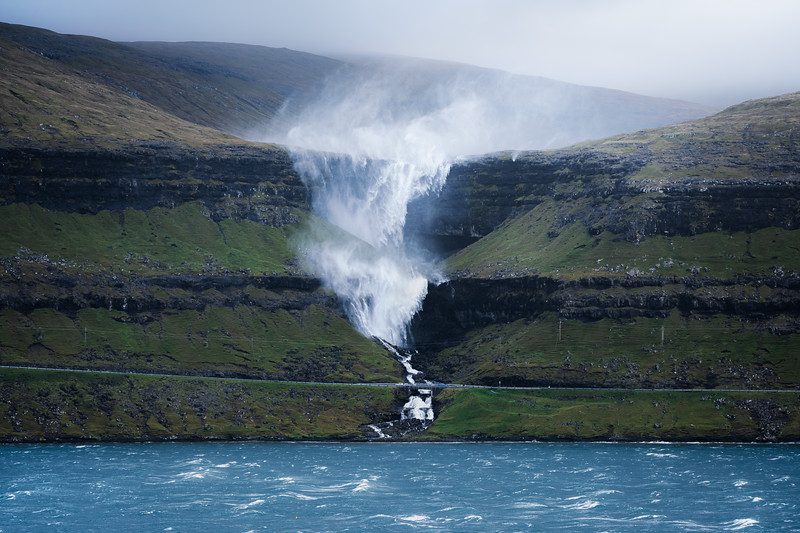 Fossa waterfall storm water faroe islands landscape photography.jpg