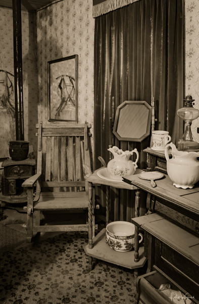Interior with Gravy Boats