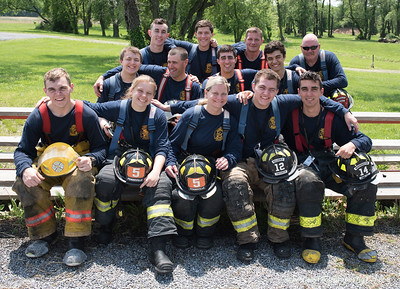 2018 Salem County FF 1 Spring Graduation