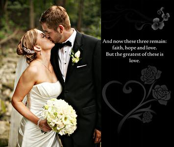 Karen & Steve 13x11 Wedding Album