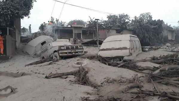 Guatemala Volcano Relief 2018