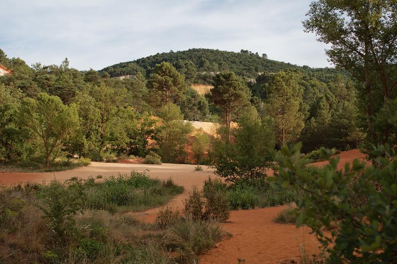 Le Colorado de Rustrel, Provence-Alpes-Cote d'Azur, France