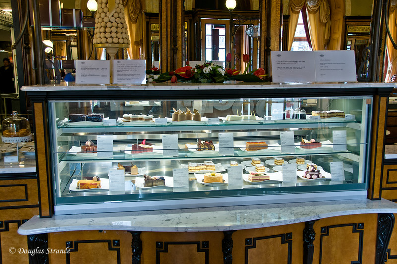 Pastries and cakes at Gerbeaud Cafe, Budapest