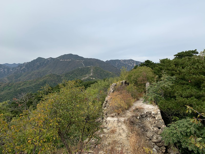 Unrestored part of Great Wall Mutianyu