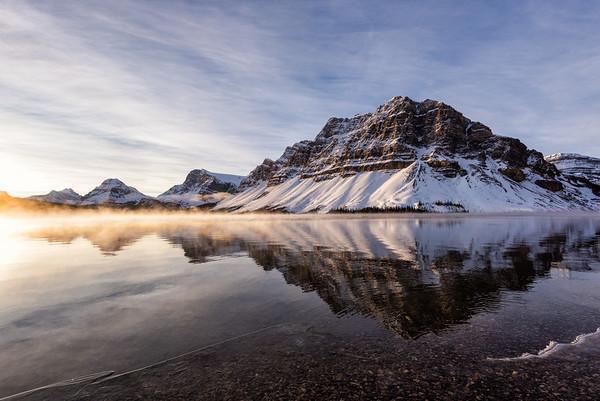 Sunrise at Bow Lake, Banff National Park