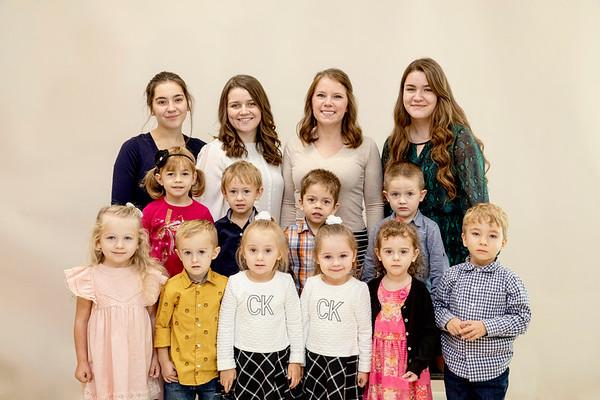 Sunday school groups