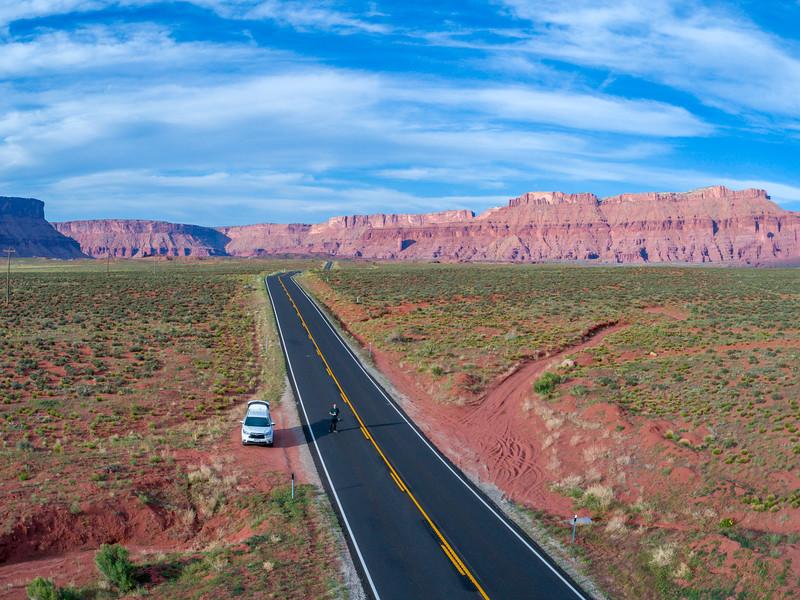 Southern Utah Drone Selfie