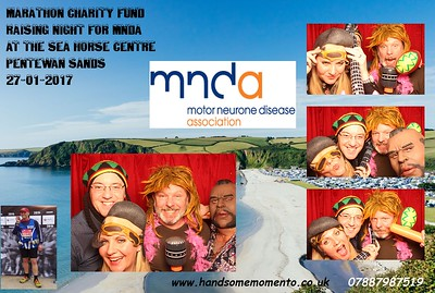 Steve Bodfish's Marathon Charity Night for MNDA, at The Seahorse Centre Pentewan Sands 27-01-17