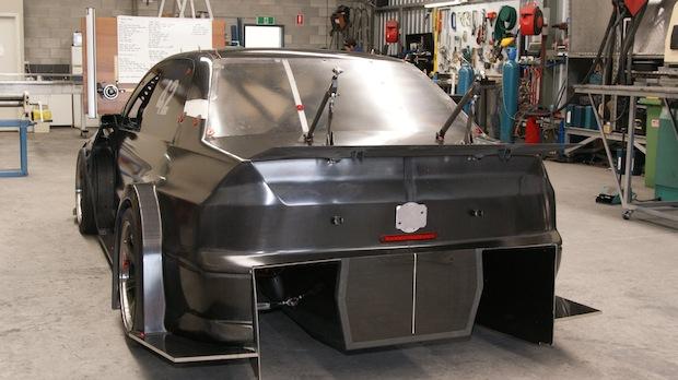 nemo evo rear aero build