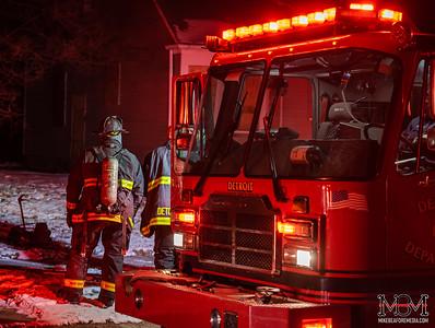 Detroit MI, House Fire 2-15-2020