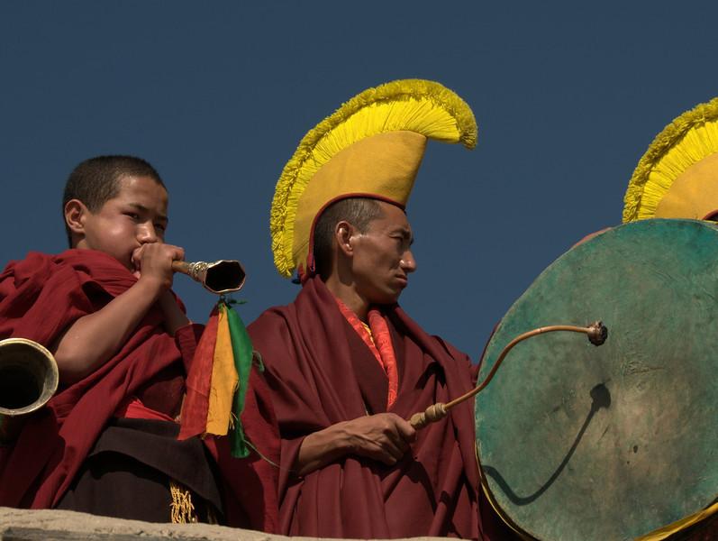 Thiksey monastery festival